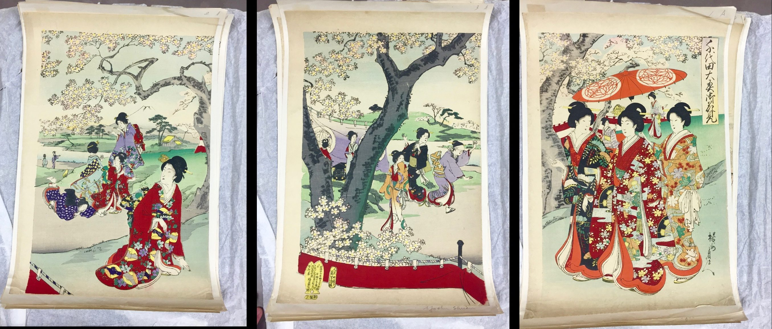 Meiji-era Prints in the St. Kate's Special Collections
