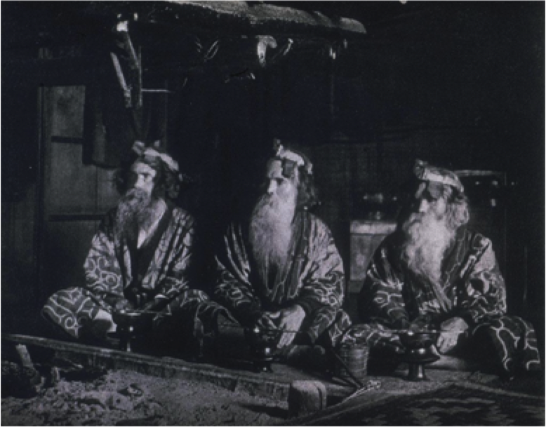 Presentation // The Ainu Moses: Arnold Genthe's 1908 Ainu Photography