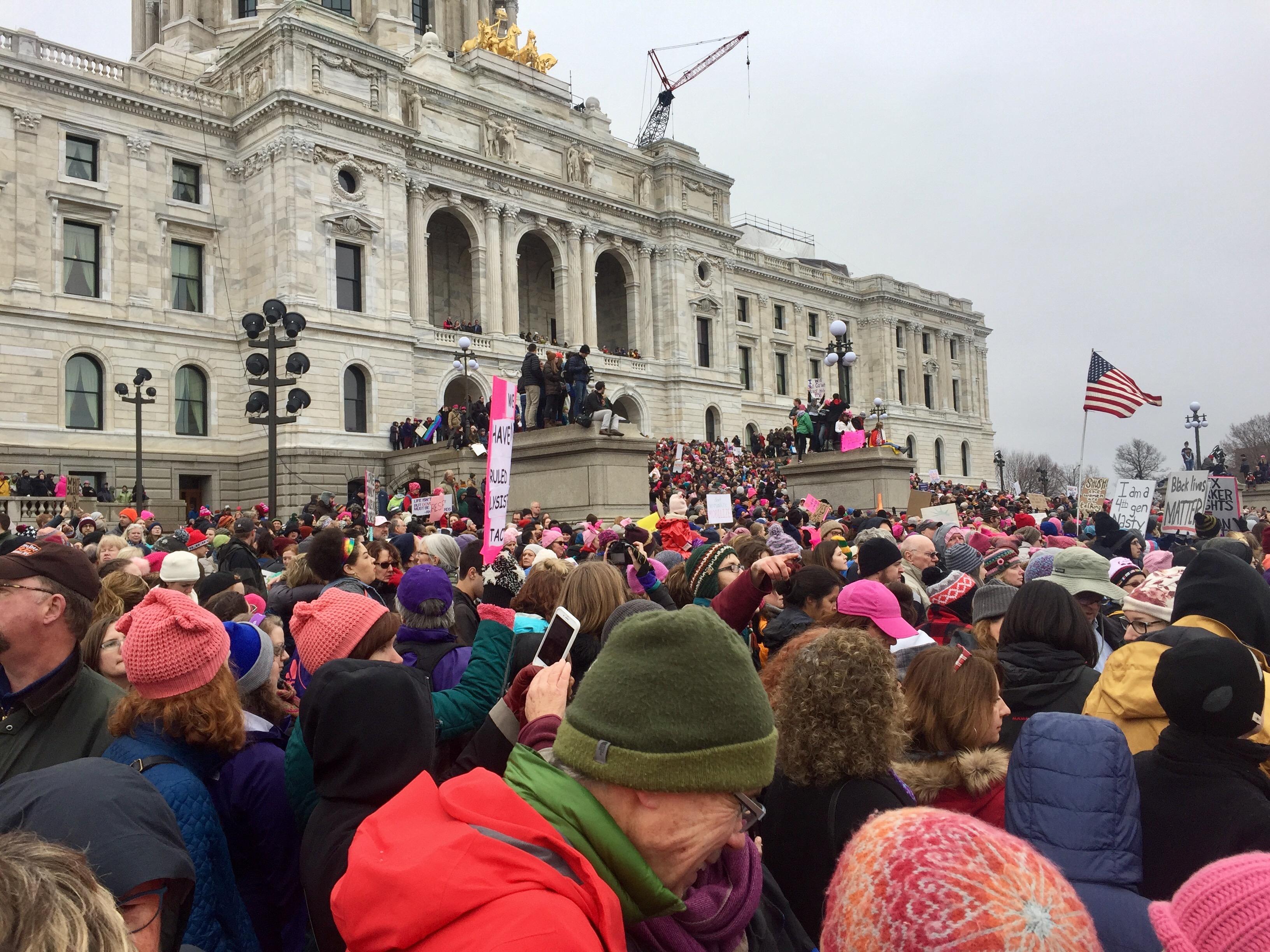 Women's March MN