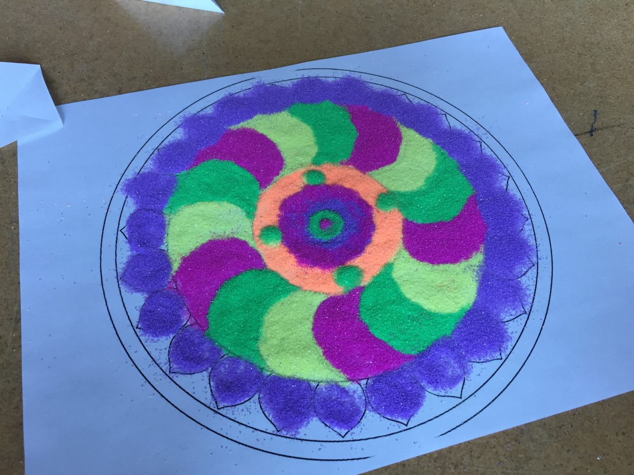 Impermanence of Sand: Teaching Tibetan Sand Mandalas