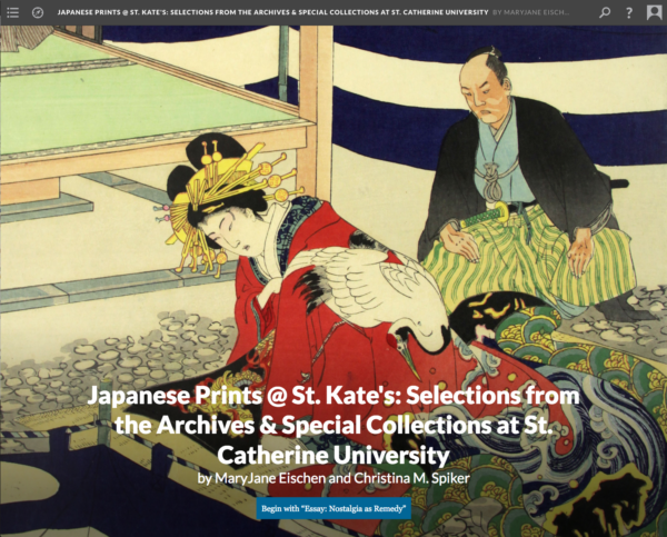 Website // Japanese Woodblock Prints @ St. Kate's w/ MaryJane Eischen (Scalar 2)